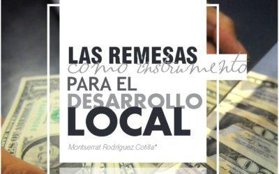 Las remesas como instrumento para el desarrollo local